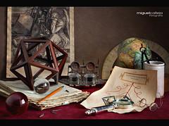 VOLMENES (Miguel Calleja) Tags: stilllife bodegn icosahedron naturemorte naturamorta icosaedro icosadre