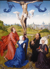 Van der Weyden, Crucifixion Triptych (central panel)