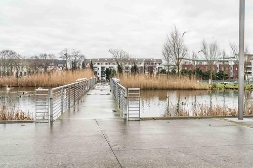 Wind Powered Public Park In Clongriffin Dublin [Father Collins Park]-110932