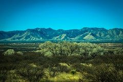 Some real pretty scenery between Benson and Tombstone, AZ.