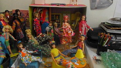 A video of my collection! (modBarbielover) Tags: casey mod doll jamie stacey ken barbie skipper fluff collection becky pj christie francie twiggy