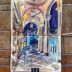 (Polina Ganzina) Tags: color colour art beauty illustration pencil ink watercolor painting graphicdesign sketch amazing artwork paint graphic drawing paintings arts creative drawings myart watercolour markers sketchaday polinaganzina