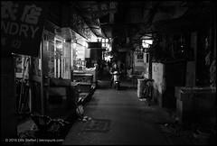 (teknopunk.com) Tags: china people night lowlight alley asia shanghai scooter oneman leicam82sn3559220 21f14summiluxmasphsn4228178