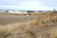 DSC00520 Presque Isle, Erie, Pennsylvania (David Diffenderfer, Grove City, Pennsylvania) Tags: ice sand erie