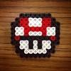 Mario beads (the ghost in you) Tags: mushroom kids crafts nintendo mario snes supermariobrothers supernintendo fusebeads perlerbeads