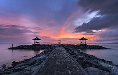 TWB_9680 (xxtreme942) Tags: sunset sea sky bali cloud beach indonesia candidasa