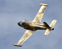 Strikemaster (Bernie Condon) Tags: plane vintage flying aircraft aviation military attack jet strike preserved trainer warplane bac strikemaster