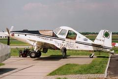 PH-WYE @ Lelystad 22 mei 1993 by J.Hetebrij (Hot Air) Tags: turbo rockwell ayres commander thrush phwye