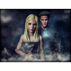 Impossible Love (Rooners Toy Photography) Tags: angel toys scifi sciencefiction buffy figures vampires buffythevampireslayer davidboreanaz rooners rtpinstagram