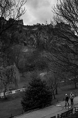 That View! (Steve Gallazzi) Tags: city people blackandwhite bw art contrast 50mm scotland nikon edinburgh f14 streetphotography sigma d610