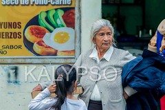 Hispanic Grandmother Buying A Pizza For Her Granddaughter (kalypsoworldphotography) Tags: poverty life road old grandma portrait people urban food woman southamerica senior girl beautiful look closeup female person clothing ecuador nice healthy child sad adult skin grandmother expression background culture lifestyle social pizza mature together elderly latin elder aged hispanic wisdom ethnic retired wrinkle peasant grayhair pensioner silverhair