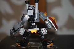 Tooth and Nail 3 (kyreii) Tags: lego mech steampunk moc mixels