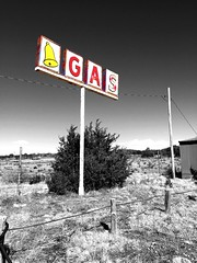 """""""Out of Gas"""" The sign is all that remains of a once thriving gas and propane business at the intersection of NM 247 and NM 54 in the tiny Village of Corona, NM, USA. Ruraldecay Outofbusiness Signs Oldsigns Newmexico RuralExploration Abandoned Highways&Fre (bradhodges09) Tags: signs newmexico abandoned ruraldecay outofbusiness oldsigns abandonedplaces ruralexploration newmexicophotography newmexicotrue highwaysfreeways"""