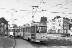 MIVB 7073 Brussel (Olga and Peter) Tags: brussels belgium belgi bruxelles tram streetcar brussel mivb 7073 april1975 f37789