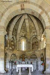 DSC0228 Santa Mara de Eunate, siglo XII, Navarra (ramonmunoz_arte) Tags: santa de arte xii mara navarra templarios siglo romnico eunate