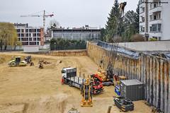 Sennebogen S10-20 (Alexandre Prvot) Tags: construction construccin lorraine worksite buildingsite travaux chantier cugn grandnancy baustellebauplatz
