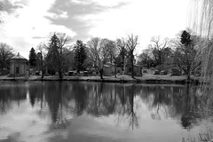 IMG_8979bw (Naturecamhd) Tags: nyc newyorkcity lake grave graveyard canon bronx gothic goth powershot thebronx gravemarker woodlawncemetery woodlawnlake thewoodlawncemetery canonpowershotsx60hs sx60hs