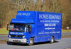 MB - HOWES REMOVALS Blairgowrie Perthshire (scotrailm 63A) Tags: trucks removals lorries