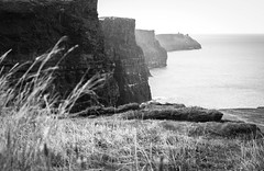 Cliffs of Moher (beginning with the letter k...) Tags: ireland sea bw cliff white black blackwhite all rights burren cliffsofmoher reserved homeland countyclare wheretheheartis