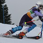 Cypress Teck U14 Slalom - Alexandra Chartrand (WMSC) wins all her races PHOTO CREDIT: Hans Forssander