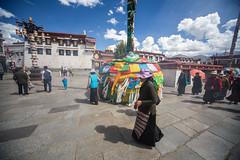 IMG_4316_edited-1 (Lauren :o)) Tags: buddhist tibet lhasa prayerflag barkhor circumambulation