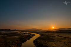 St. Patricks Sunset, Donegal. (Mr Bultitude) Tags: ri ireland sunset beach saint st river evening day patrick na donegal paddys errigal cuan
