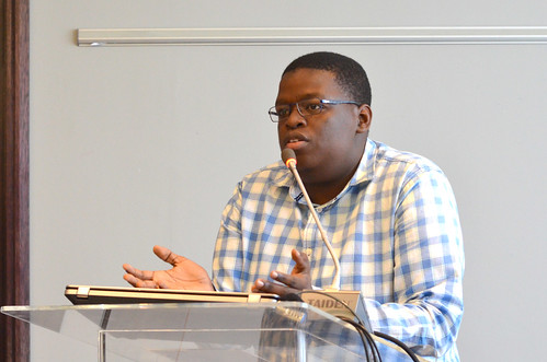 Tshepo making closing remarks