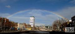 Easter rainbow (Longreach - Jonathan McDonnell) Tags: sky dublin rainbow libertyhall justclouds dsc2690