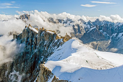 In the clouds (RudyMareelPhotography) Tags: mountain france alps clouds europe flickr chamonix mountaintop topofeurope montblancmassif flickrclickx