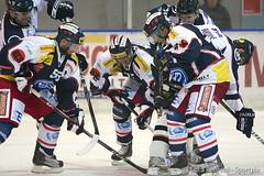 #25 Trevor MEIER in action (kirusgamewornjerseys) Tags: game ice hockey switzerland ticino trevor worn jersey hc meier ambri kosice eishockey nla nationalleague biasca piotta ambr