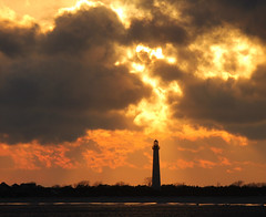 Sunset after the Storm. Explore 4.11.16 (squiggy68~natureboxphotography.com) Tags: new lighthouse newjersey best beaches jersey capemay
