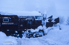 Eatin' Snow (joemcmillan118) Tags: illinois bn mendota rotary snowplow burlingtonnorthern deepsnow