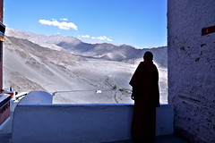 Thiksay Monastery (pallab seth) Tags: city travel panorama india mountain tourism landscape asia tour monastery valley layers leh himalayas thikse highaltitude gompa jammuandkashmir indusvalley thiksay thikseygompa