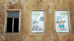 Fensterwerbung (by Andy) Tags: window d50 fenster werbung 2011 meisen