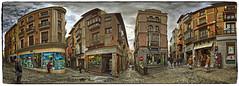 Toledo, Spain (Panorama) (Michael Coyne) Tags: urban panorama landscape spain streetscene panoramic toledo urbanlandscape toledospain