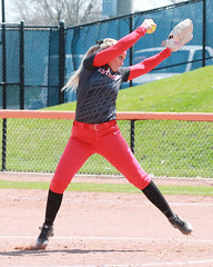 Pitching is intense (RPahre) Tags: illinois urbana softball rutgers pitcher b1g shaylasweeney