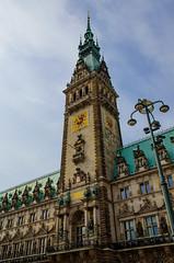 Hamburg Rathaus (Emily Kistler) Tags: building architecture germany outdoors nikon europe cityhall d750 rathaus hamburggermany
