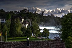 Rheinfall Schaffhausen 3/3 (afw | ph[o]to) Tags: river schweiz switzerland rhine rhein hdr rheinfall flus 3px
