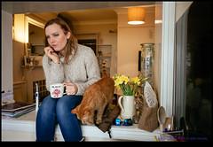 160312-7281-X-M1.jpg (hopeless128) Tags: uk portrait woman female cat bristol jasper sacha 2016 xm1