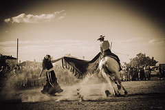 Fusin ecuestre,homenaje.Ogjares (Art.Mary) Tags: espaa horse monochrome canon caballo cheval andaluca spain granada espagne ogjares fusinecuestre
