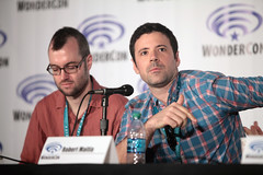 Brett Cawley & Robert Maitia (Gage Skidmore) Tags: california robert matt scott michael los kevin dad baker angeles center jordan brett american bradley convention dee tbs wendy blum richardson weitzman wondercon 2016 schaal grimes cawley maitia