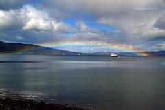 (Zak355) Tags: weather ferry scotland riverclyde rainbow scottish bute rothesay isleofbute