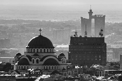 (ilConte) Tags: architecture serbia genex belgrade beograd architettura belgrado saintsava genextower