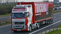 R12 BYC (panmanstan) Tags: uk truck wagon volvo yorkshire transport international lorry commercial vehicle a1 fh darrington