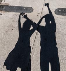 Shadowy People (Jay:Dee) Tags: light shadow toronto photo walks parkdale topw topwpkdl