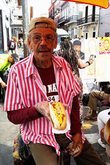 Chili Dog Vender on Bourbon Street (Eddie C Morton) Tags: gay woman hot sexy art wet girl lesbian naked nude french criollo model glamour louisiana photoshoot body neworleans frenchquarter margarita cultures cajun daiquiri creole marguerita gwada mestizo ladymarmalade creolelady artofvisuals showmeyournola
