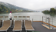 The Lookout (nfin10) Tags: lady canon river powershot riverboat vista danube avalon traveler g16