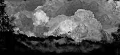 an avalanche (wieruszwierusz) Tags: photomanipulation catastrophe avalanche wieruszwierusz