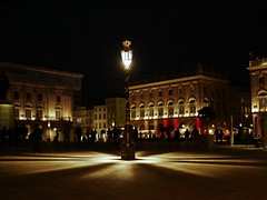Nancy Place Stanislas (wulfwalker) Tags: urban france night licht frankreich noir place nacht nancy stadt architektur nuit patz placestanislas stdtebau