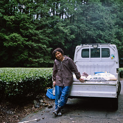 Shinma Valley Tea Plantation (Tonx-) Tags: green film japan tea kodak hasselblad portra shizuoka